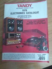 More details for rare tandy catalogue 1978 vintage computing electronics 1970s retro