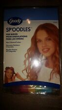 Goody Sp'oodles Press On Curlers for Spirals, 10 Ct New in Box