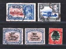 GB KENYA UGANDA TANGANYIKA  Old Amazing  Fine Used Stamps Lot