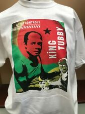 KING TUBBY AT THE CONTROLS DUB T SHIRT STUDIO 1 TROJAN REGGAE