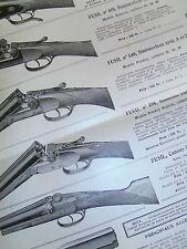 pub recto - verso d'arme de luxe REINOR  ( ref 16 )