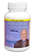 Bob's Best Coral Calcium 2000 by Bob Barefoot-12 90CT Bottles