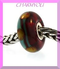AUTHENTIC TROLLBEADS 61163 Red China - Retired