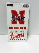 New Wincraft NCAA University Of Nebraska Corn Huskers Magnets Ensemble Sports