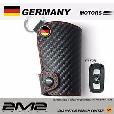 Leather Key fob Holder Case Chain Cover For BMW E63 E64 E84 E83 E70 E71 E72 E85