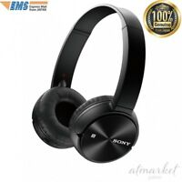 SONY MDR-ZX330BT wireless Headphones Bluetooth folding Black F/S from JAPAN EMS