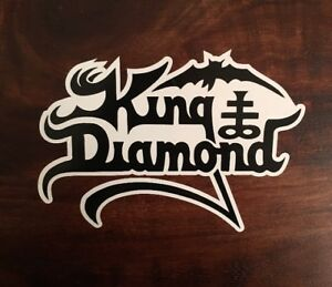 King Diamond Sticker