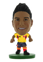 JAMES RODRIGUEZ COLOMBIA FIFA WORLD CUP 2018 SOCCERSTARZ MINI SOCCER FIGURE