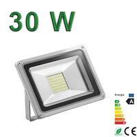 Projecteur Exterieur LED 30W blanc froid 220V IP65 Sans Detecteur Extra plat