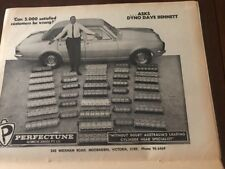 1968 Perfectune Cylinder Print AD vintage Automobilia Motor Car magazine advert