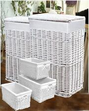 Wicker Modern Decorative Baskets with Lid