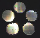 """Historic 1970s-1980s silicon wafers - Qty of five, 4"""" wafers includes one DSP"""