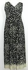 Marks and Spencer animal leopard print long maxi summer dress size 12