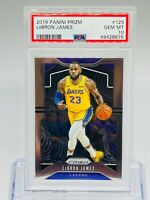 2019 Panini Prizm Base Lebron James #129 Los Angeles Lakers PSA 10 GEM MINT