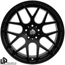 UP720 19x9.5 5x114.3 Matte Black ET40 Wheels Fits Mazda Speed 3 Eclipse Tc Rx8