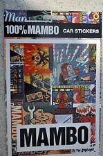 100% MAMBO Car Sticker Collage