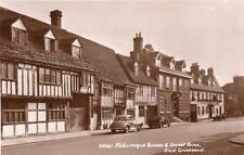 Dorset Arms Pub Motor Car East Grinstead unused RP old pc Sweetman