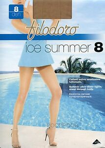 Tights 8 Den Filodoro Ice Summer 8
