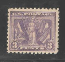 US Sc 537 WWI  3c Victory OG VF/XF MNH