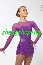 Girls' Figure Skating Dress/Competition Baton Twirling Ice Skating Dress  8949