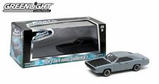 1970 Dodge Charger r/t presque and Furious 4 gris 1:43 Greenlight 86217 Grey IV rt