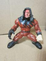 Kane Action Figure WWF Maximum Sweat 1998 Jakks WWE Wrestling Toy Vintage Sports