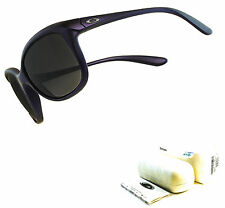 Oakley Pampered Sunglasses Iris Velvet Black Grey Gradient Sample OO9160-08 USA