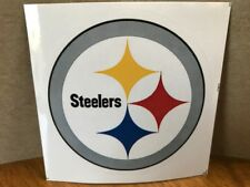 Pittsburgh Steelers NFL Football Team Sticker with Team Logo ~ NEW ~ Ships Fast