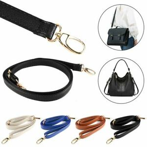 Misscany Crossbody Bag Strap Wide Shoulder Strap For Bag Accessory Vintage Strap Leather For Handbag Solid