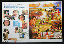 United Nations FDC First Day Cover 21c Block Ersttagsbrief  (L-1963+