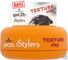 Schwarzkopf got2b iStylers TEXTURE CLAY stile di capelli 75ml