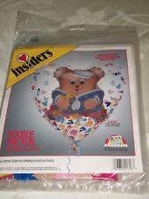 "Anagram Insider Baby Boy Balloon - Bear - 36"" - NIP - Plastic & Foil"