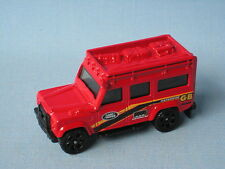 MATCHBOX LAND ROVER 110 defender ROSSO CORPO Safari 4x4 OFF ROAD toy model car