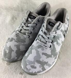 NO BULL NoBull Gray Camo Running Shoes Crossfit Sneakers Men's 11.5 Women's 13
