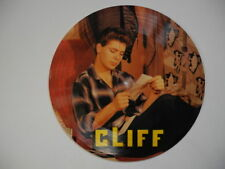 """CLIFF RICHARD I Gotta Know / Blue Suede Shoes PICTURE DISC 45 7"""" Denmark"""