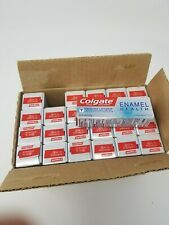 Colgate enamel health toothpaste Clean Mint Trial Size 24 Pack dated Oct. 2020