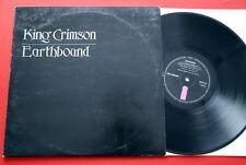 KING CRIMSON EARTHBOUND 1972 PROG JAZZ ROCK ORIGINAL ISLAND RARE UK LP