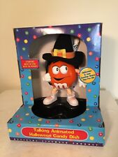 M&M Collectible Talking Animated Halloween Candy Dish - Activated By Motion
