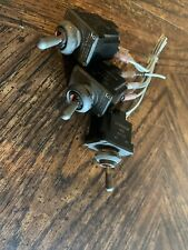 Lot Of 3 MS24524-23 (2TL1-3) HONEYWELL MICRO SWITCH DPDT TOGGLE SWITCH