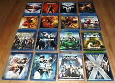 16 blu-ray DC MARVEL X-Men Apocalypse HULK Spider-man 2 3 Homecoming DAREDEVIL