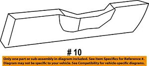 Jeep CHRYSLER OEM Grand Cherokee Instrument Panel Dash-Column Cover 1DE99BD1AD