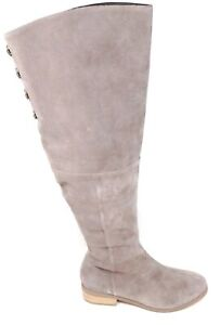 Sole Society Womens Sonoma Over the Knee Fashion Boots Mushroom Suede Size 7 M