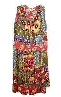 Vintage Hindu Ishwar Blouse And Skirt Set Size 40 Maxi Dress