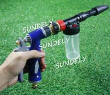 Portable Snow Foam Car Wash Spray Gun Lance Uses Hose Pipe Red Volume 100 Ml