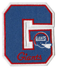 """NEW YORK GIANTS - 5"""" NFL FOOTBALL LETTER PATCH"""