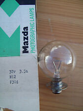 MAZDA M12 32V 3.5AMP PROJECTION LAMP/BULB. NEW (OLD STOCK)
