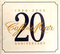 Compilation 2xCD Café Del Mar - 20th Anniversary (1980-2000) - Digipak - Europe