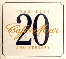 Compilation 2xCD Café Del Mar - 20th Anniversary (1980-2000) - Digipak - Europe