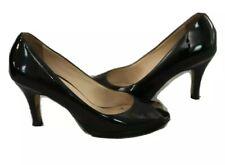 Cole Haan Air Pump Womens Sz 6.5 B Black Patent Peep Toe Heel Shoe