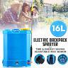16L Electric Knapsack Pressure Spot Sprayer Weed killer Chemical Backpack Pump